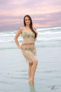 Sunkissed Crochet Beach Dress by Briana K Design