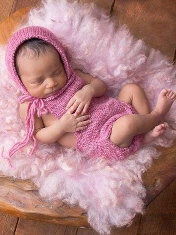 Sweet Knit Romper Onesie by Briana K Designs