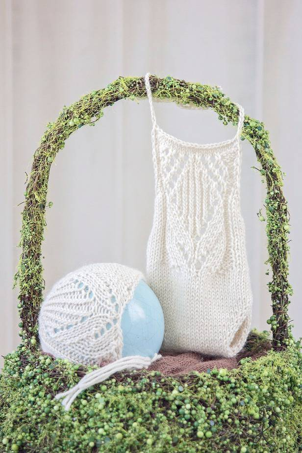 Tulip Knit Romper by Briana K Designs