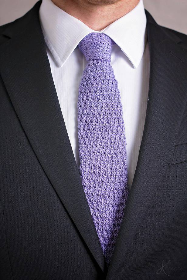 Wakefield Men's Knit Tie by Briana K Designs