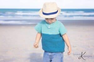 T-Shirt Crochet by Briana K Designs