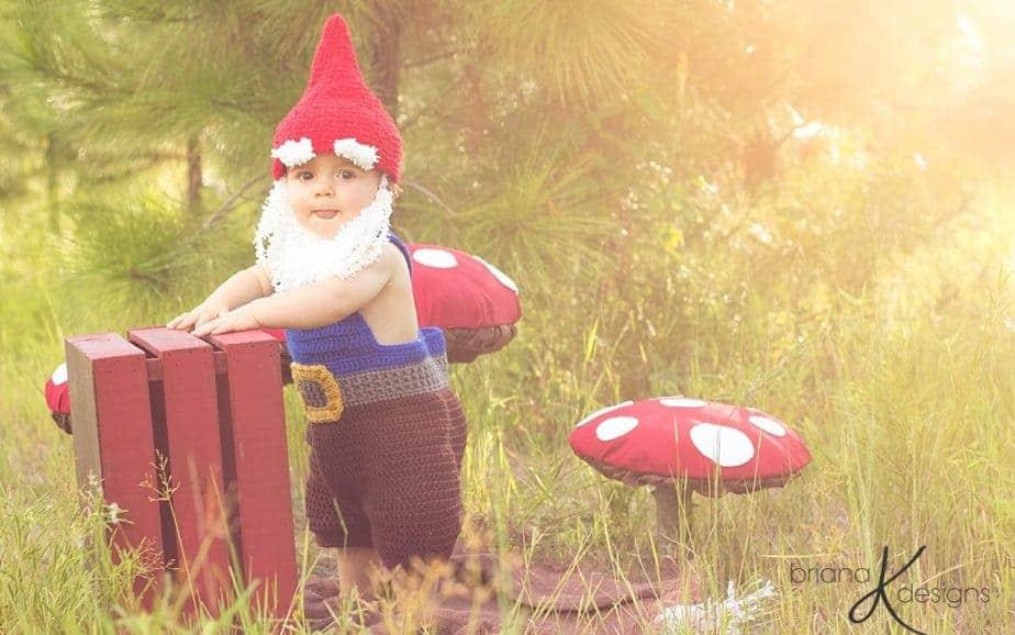 No Sew Mushroom Photo Prop