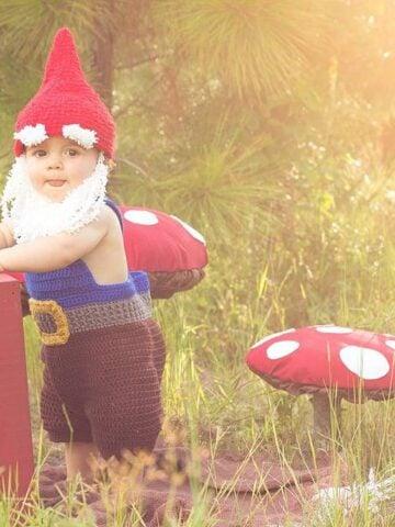 Gnome and Santa Crochet Set by Briana K Designs