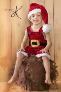 Gnome and Santa Crochet Set by Briana K Designs