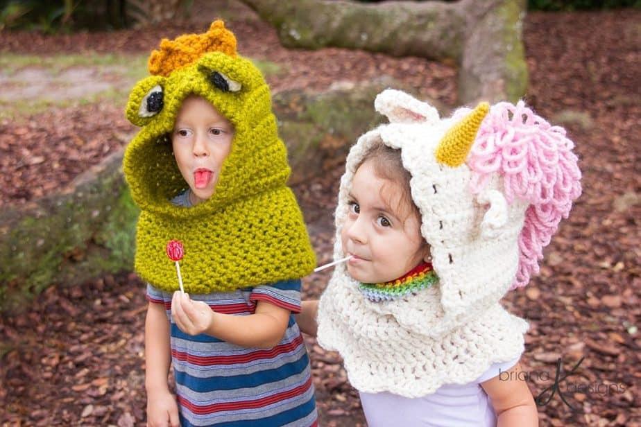 Fairy Tale Cowl Crochet Series by Briana K Designs
