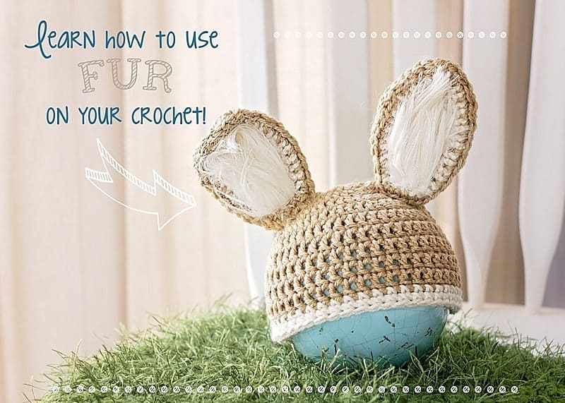 Adding Fur to your Crochet or Knit