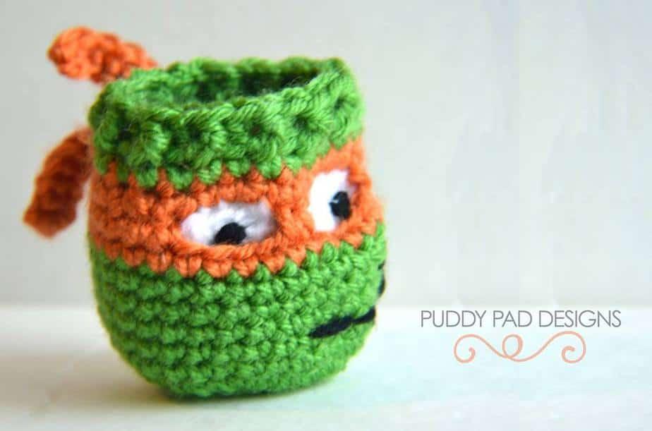 Crochet EOS Lip Balm Holder / Key Chain by Briana K Desings