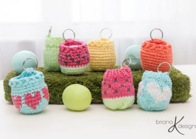 EOS Lip Balm Holder – Knit