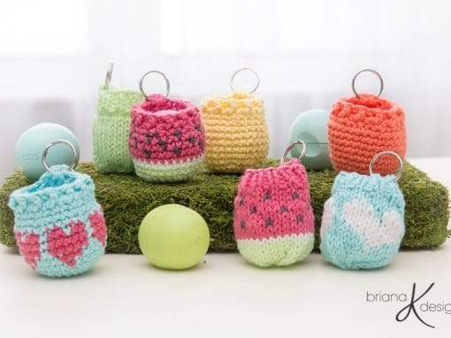EOS Lip Balm Holder – Crochet
