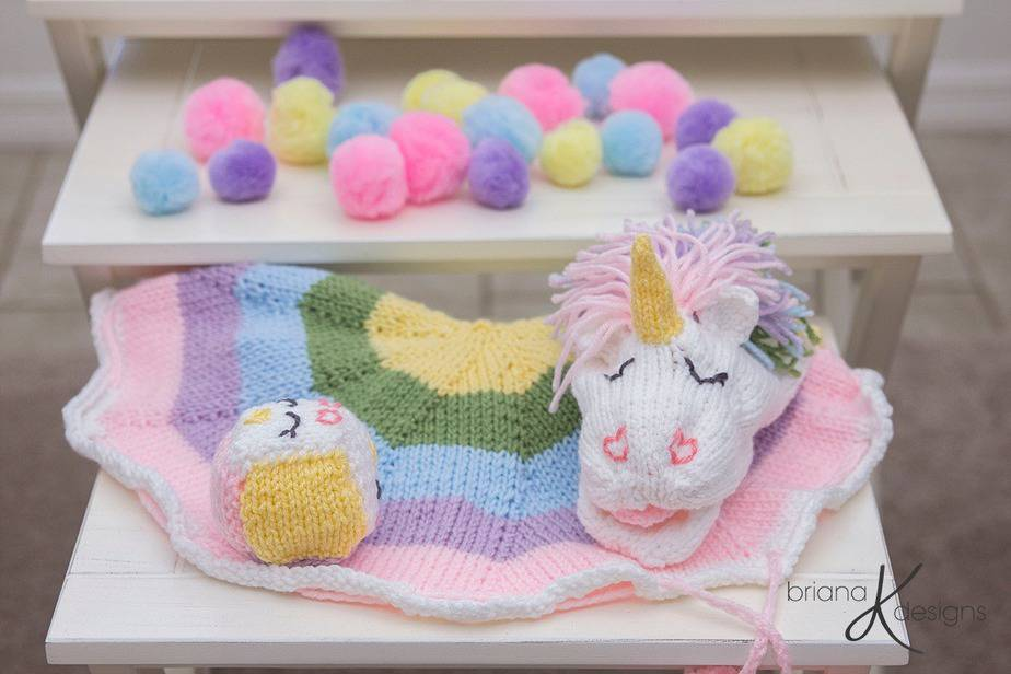 Unicorn Knit Game by Briana K Designs