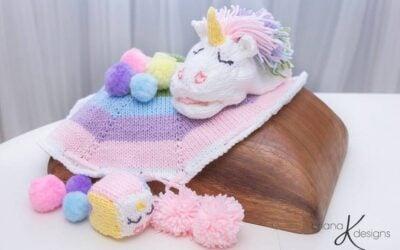 Unicorn Rainbow Game Knit
