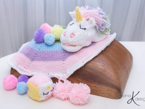 Unicorn Rainbow Game Knit