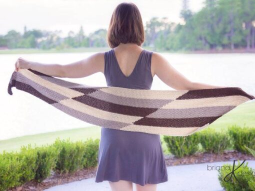 Parallel Crochet Wrap