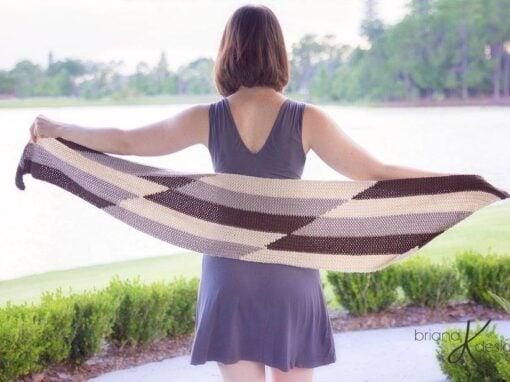Parallel Crochet Wrap