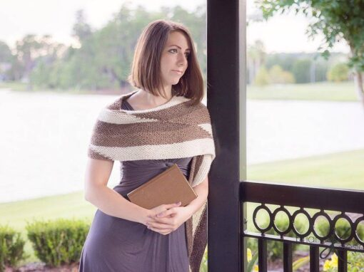Parallel Knit Wrap