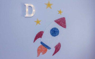 Rocket Yarn Decor!