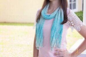 Beach Knit Scarf