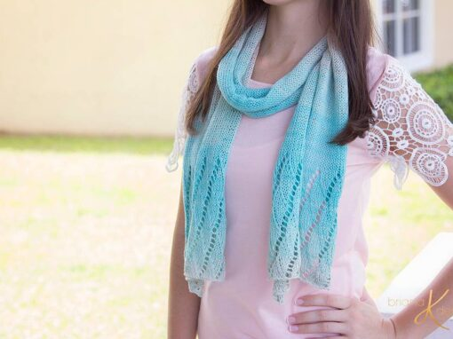 Beach Scarf Knit