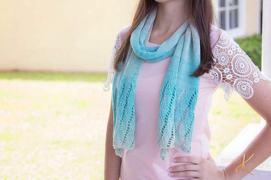 Beach Scarf Knit