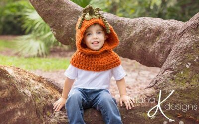 Pumpkin Hooded Cowl