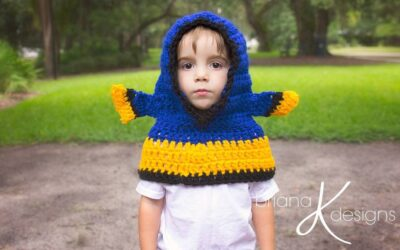 Fish Hooded Cowl