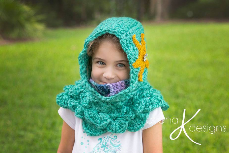 Mermaid Hooded Cowl