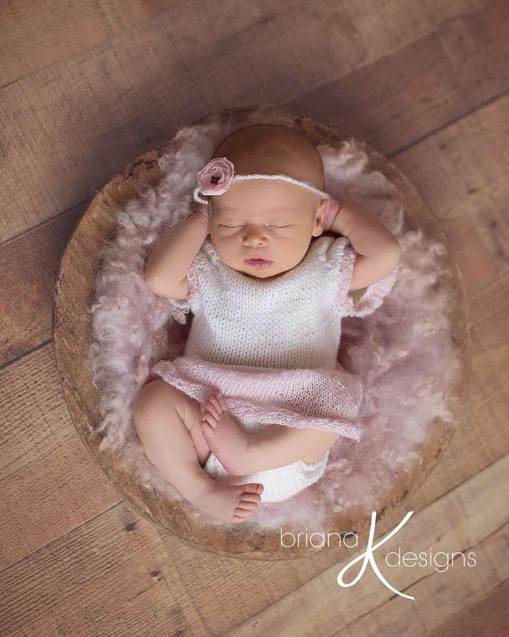 Cupcake Knit Romper