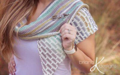 Brick and Mortar Knit Shawl Wrap