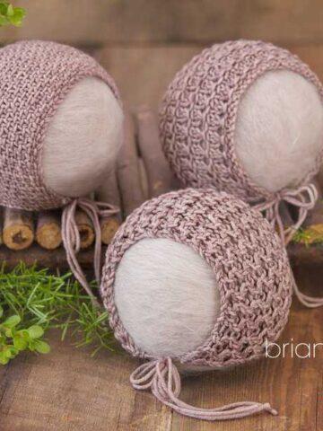 Newborn Bonnet Pack One