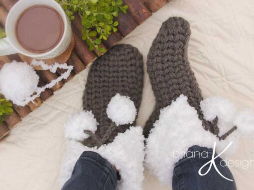Quick and Cushy Slippers