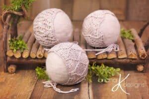 Newborn Bonnet Pack Four