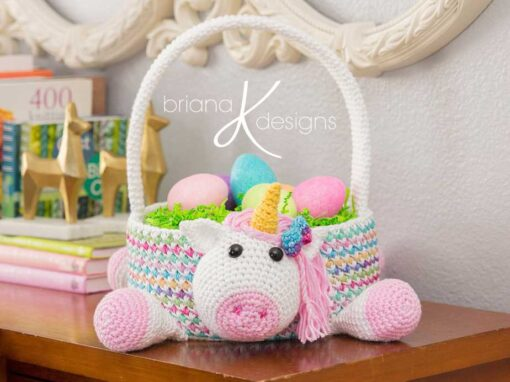 Unicorn Easter Basket
