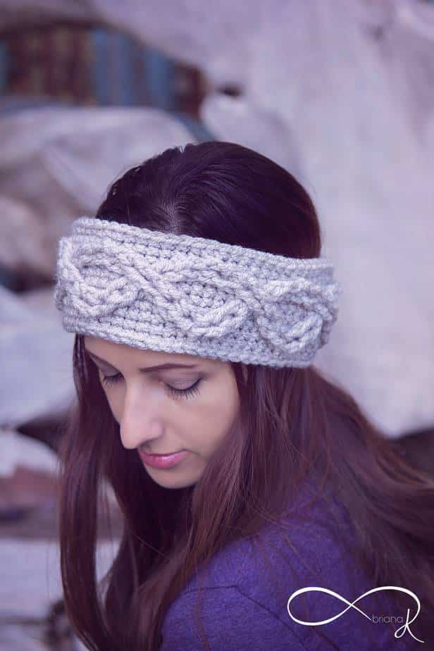 Infinity Crochet Ear Warmer