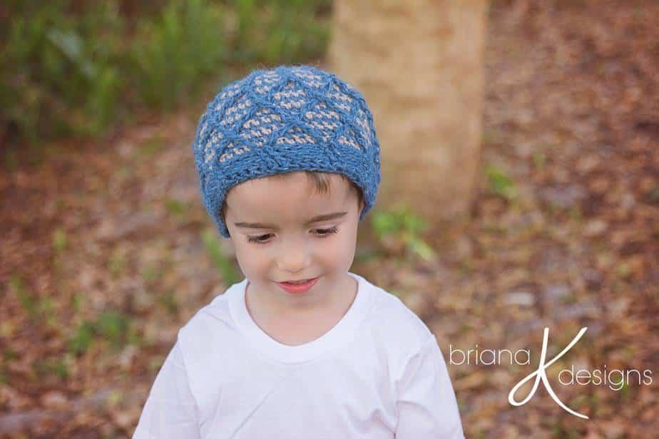 Cavit Knit crochet Beanie Hat
