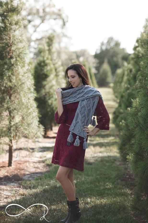 Infinity Crochet Chic Sheep Scarf
