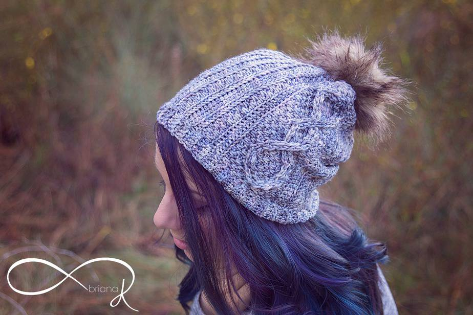 Infinity Crochet Whirl Slouchy