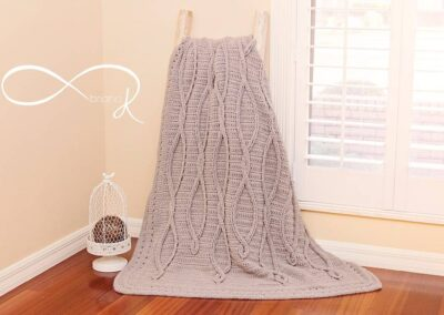 Infinity Crochet Upstream Blanket