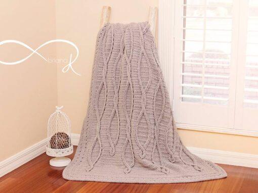 Infinity Crochet Upstream Blanket