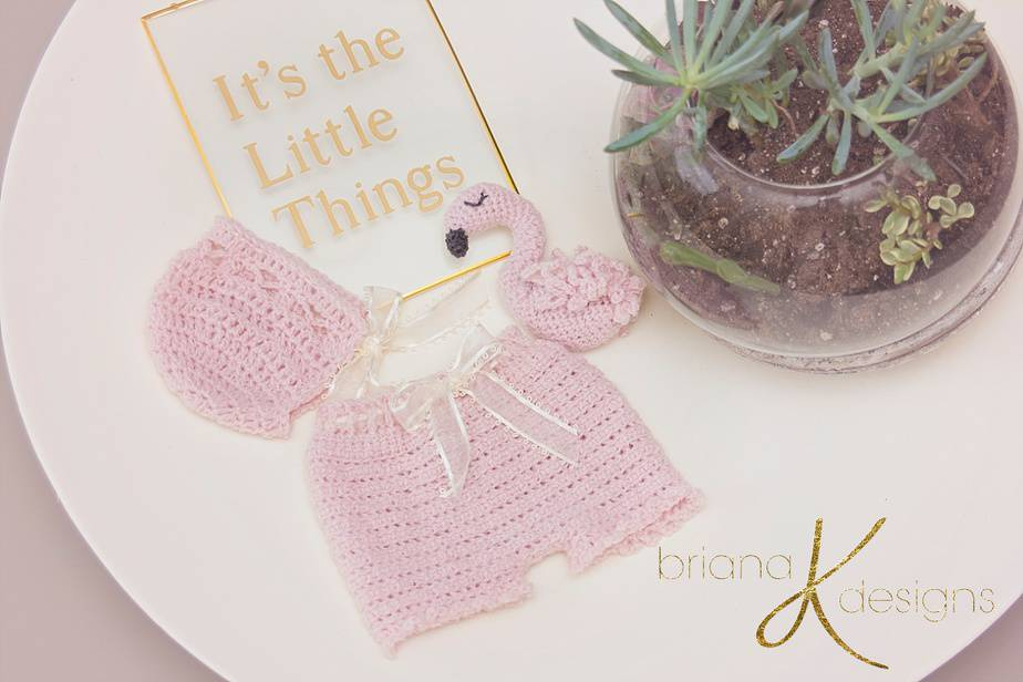 Flamingo Pink and Sweet Crochet Pattern