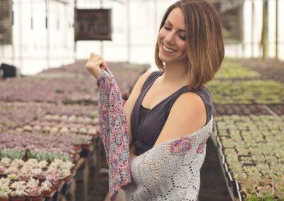 Modern Honeycomb Shawl Crochet