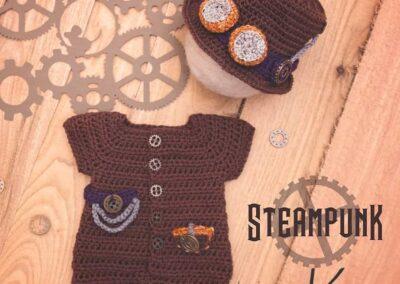 Steampunk Newborn Outfit