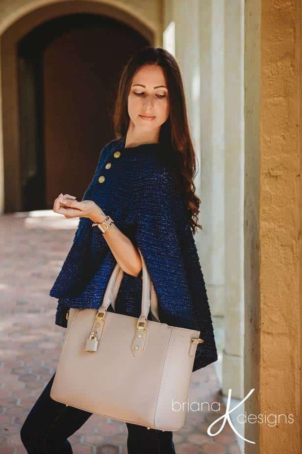 Posh Cape Jacket Crochet Pattern