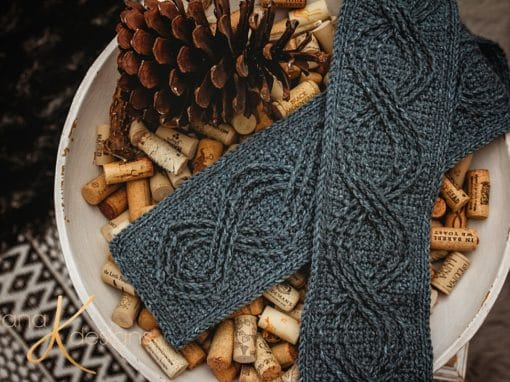 The Wexford Infinity Crochet Scarf