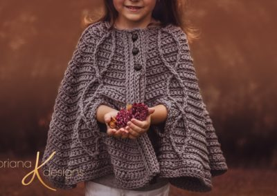 Children's Infinity Cape Jacket