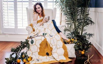 Buzzing Beehive Blanket