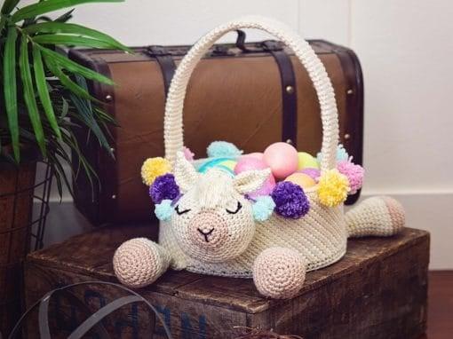 Llama Easter Basket