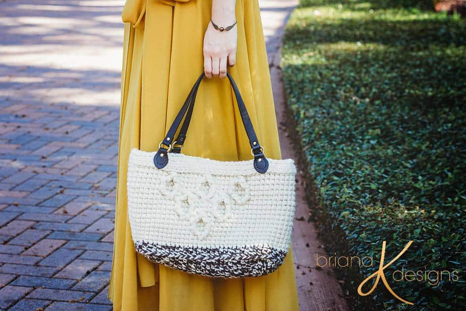 Hygge Infinity Crochet Bag and Clutch by Briana K Designs
