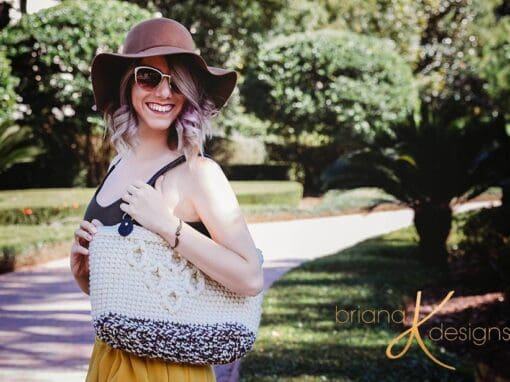 Hygge Infinity Crochet Bag