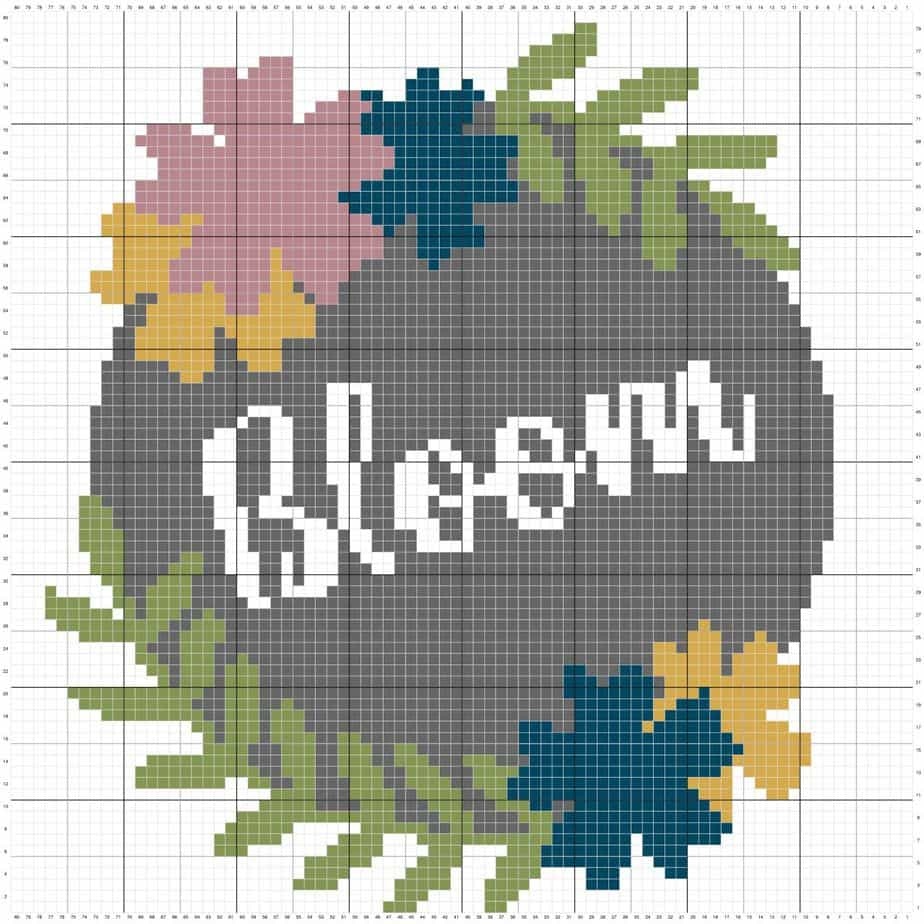 Bloom Pillow Cover by Briana K Designs