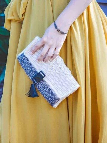 hygge cluch crochet pattern